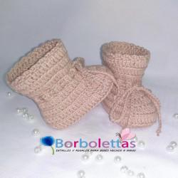 Botitas Calcetín Rosa...