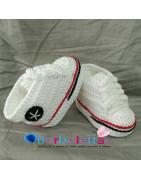 Patucos para bebés hechos a mano