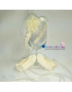 Conjuntos de Gorritos y Patucos para bebé, hechos a mano